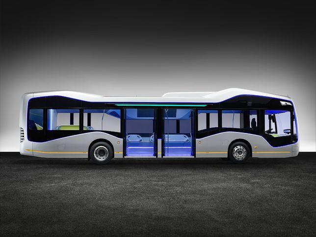Autonomiczny autobus Mercedesa