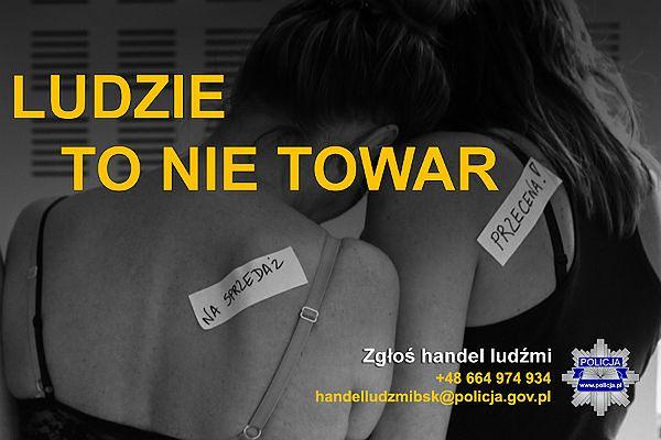 Policja alarmuje: jeżeli jesteś świadkiem handlu ludźmi, zgłoś to!
