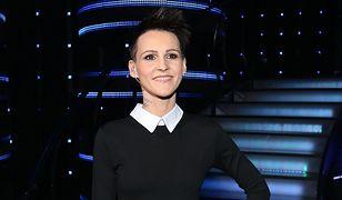 """""""Mam talent"""": Agnieszka Chylińska jak uczennica"""