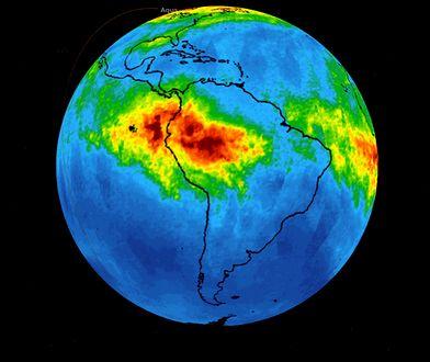 Niewidzialny zabójca leci w atmosferę. NASA pokazała dane