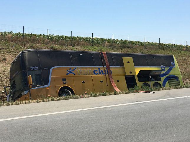 Wypadek w Serbii: kierowca polskiego autokaru zatrzymany na 48 godzin