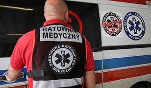 Tragiczny wypadek. Ratownik medyczny ma połamaną miednicę, pękniętą nerkę, krwiaka opłucnej