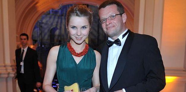 Marcin Meller pokazuje żonę