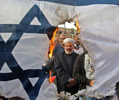 Demonstracja Hezboallahu w LIbanie