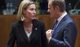 Federica Mogherini i Donald Tusk