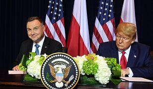 Andrzej Duda i Donald Trump podpisali wspólną deklarację na temat pogłębienia współpracy obronnej między Polską i USA