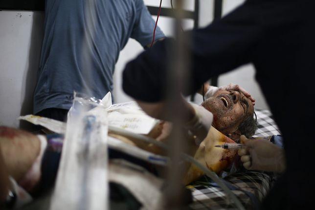 Syria: atak chemiczny w Idlib