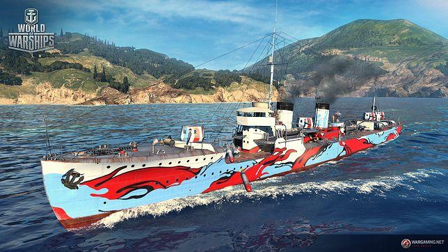 """Zderzenie żywiołów w """"World of Warships"""". Ujarzmijcie piekielne ognie lub potęgę tsunami"""