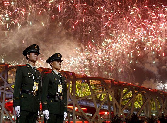 """Pekin """"majstrował"""" przy pogodzie podczas olimpiady"""