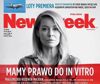 """""""Mamy prawo do in vitro"""", czyli Małgorzata Rozenek-Majdan oskarża PiS w """"Newsweeku"""""""