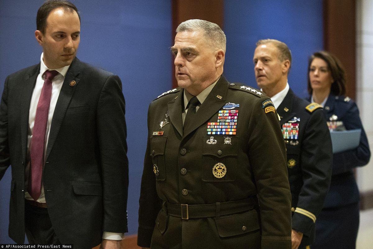 Konflikt USA-Iran. Gen. Milley: celem ataku na bazę w Iraku było zabicie Amerykanów