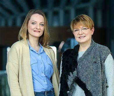 Agnieszka Barjasz z mamą Krystyną Czubówną