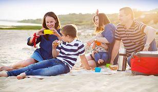 Rodzina podczas wakacji