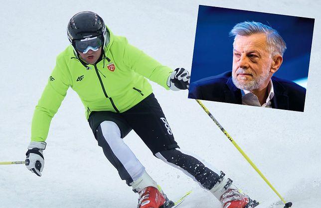 Padło pytanie o wyjazd na narty. Doradca Andrzeja Dudy przerwał wywiad