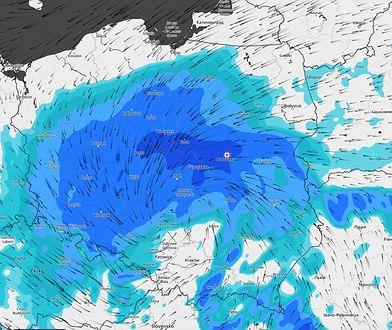 Pogoda. Nadciąga niż Daniel. IMGW ostrzega przed silnym wiatrem i opadami deszczu