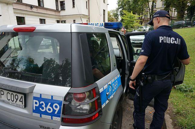 policja, cieszyn, radiowóz