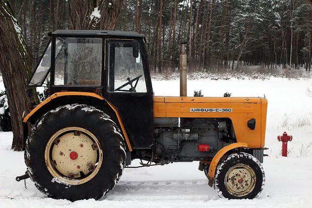 Świętokrzyskie. Zatrzymanie pijanych traktorzystów (zdjęcie ilustracyjne)