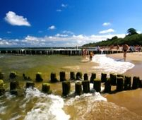 Ustronie Morskie - popularny kurort nad Bałtykiem