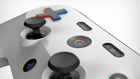 Tak może wyglądać kontroler gier strumieniowej usługi Google. Jest patent i fanowskie rendery