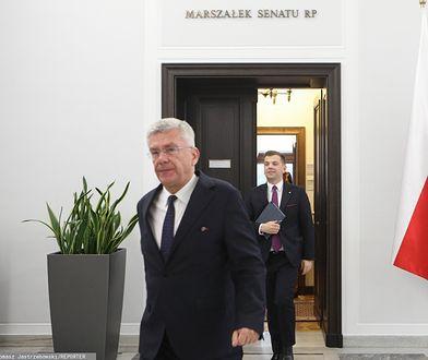 B. marszałek Senatu na odchodne przyznał 35 tys. zł podwładnemu