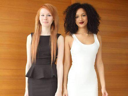 Trudno uwierzyć, że te dziewczyny to bliźniaczki