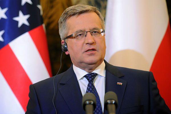 Prezydent Bronisław Komorowski obchodzi 62. urodziny