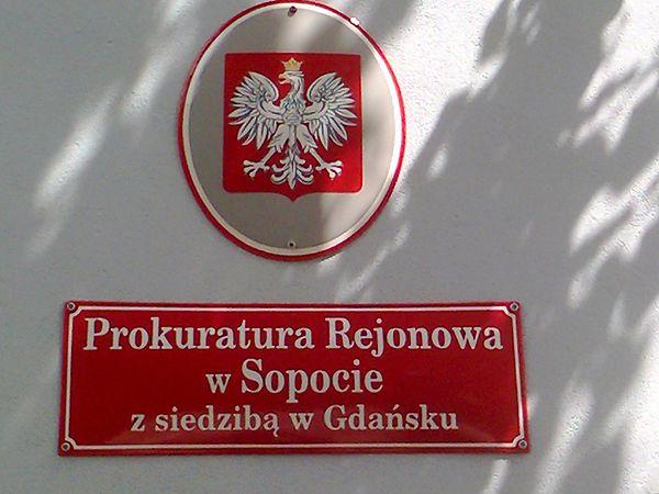 Sopocka prokuratura przeprowadziła się do Gdańska