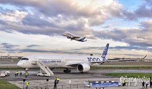 Airbus A350-1000: pierwszy lot nowego samolotu Europy
