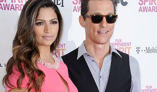 Matthew McConaughey wychwala żonę