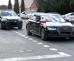 Wypadek samochodu ochrony prezydenta pod Opolem