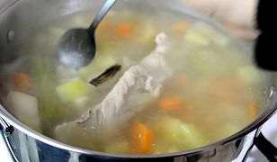 Zupa grysikowa z ziemniakami. W sam raz na diecie