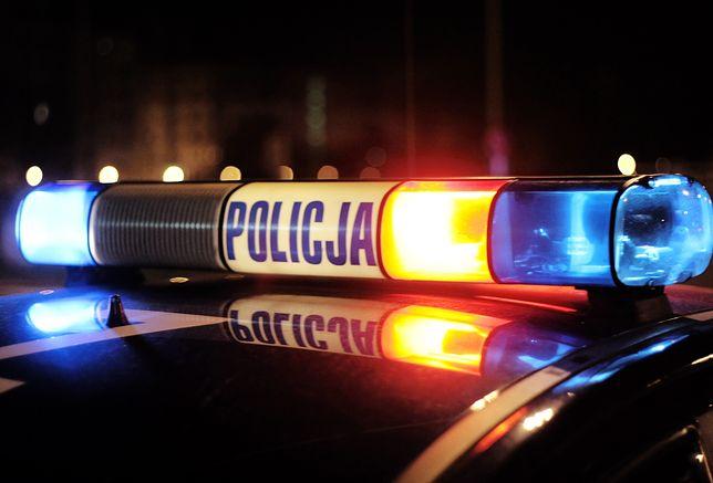 Policyjna akcja w Radwanicach pod Wrocławiem