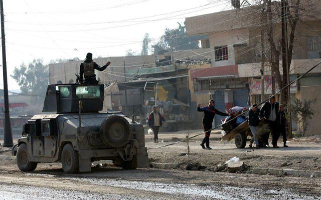 Uniwersytet w Mosulu oswobodzony