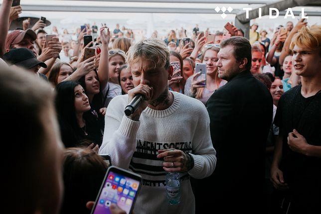 Raper porwał publiczność swoim występem