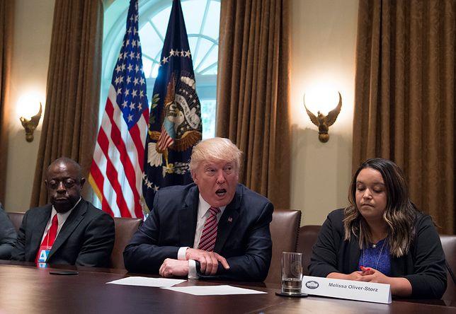 Prezydent USA, Donald Trump
