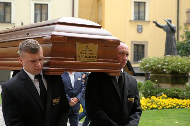 Uroczystości pogrzebowe kard. Franciszka Macharskiego w Krakowie