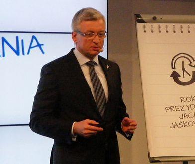Jaśkowiak podsumowuje swój pierwszy rok na stanowisku prezydenta Poznania