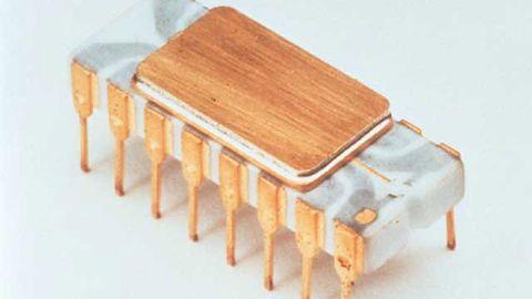 Intel 4004. Historia i architektura pierwszego procesora niebieskich