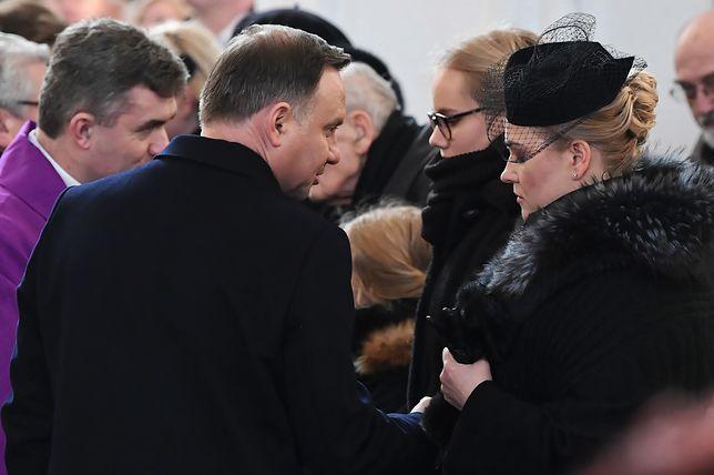 Andrzej Duda skomentował mowę pogrzebową o. Wiśniewskiego. Ma do niej zastrzeżenia