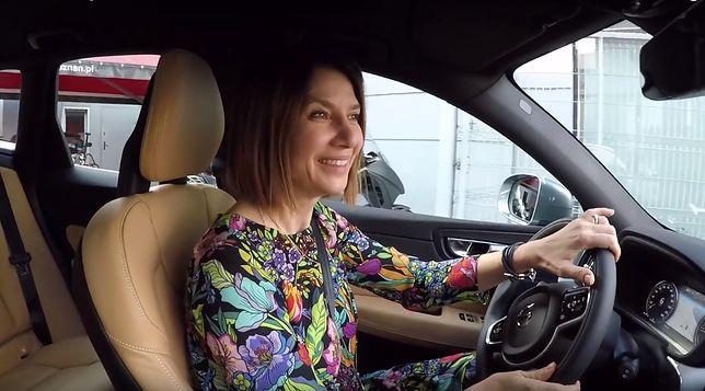 Grażyna Wolszczak jeździ volvo z silnikiem diesla. Ale walczy ze smogiem