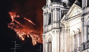 Włochy. Etna znów się przebudziła. Zobacz zdjęcia