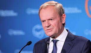 Donald Tusk zapytany o syna. Były premier odpowiedział TVP Info