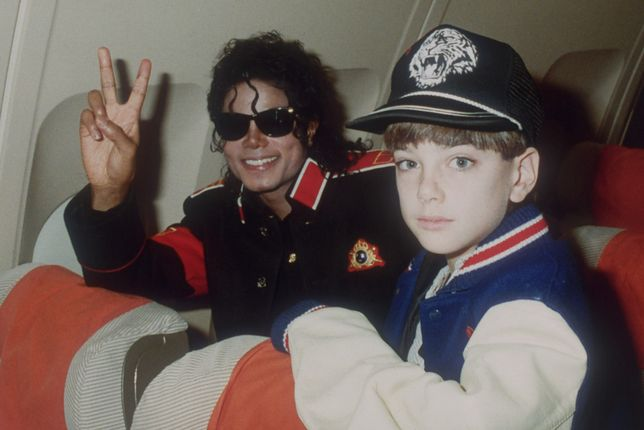 "Kadr z filmu ""Leaving Neverland"""