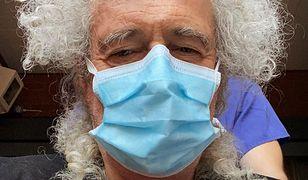 Brian May z Queen trafił do szpitala. Podał powód