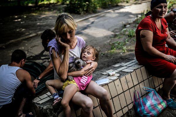 Wewnętrzni uchodźcy w Doniecku
