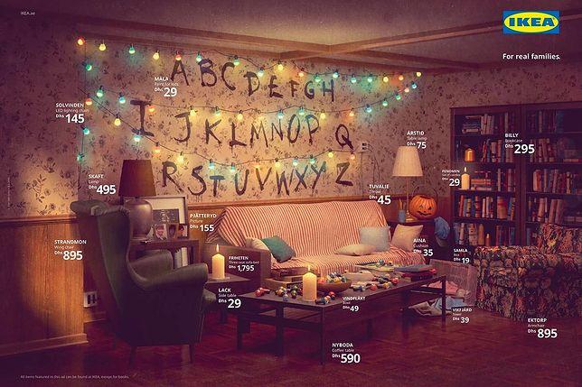 """""""Simpsonowie"""", """"Przyjaciele"""" i """"Stranger Things"""" w reklamie Ikei. Firma odtwarza pokoje z kultowych seriali"""