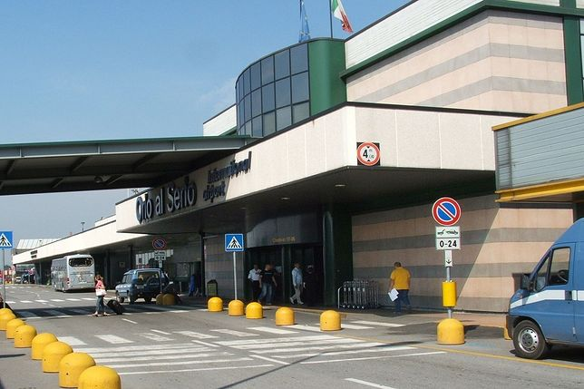 Lotnisko Orio el Serio obsługuje dwa duże miasta: Mediolan i Bergamo