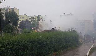 Toruń. Wybuch domu. Runął cały budynek