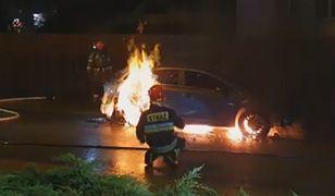 """Podpalacz grasuje w Bielsku-Białej? Kilka samochodów """"poszło z dymem"""""""