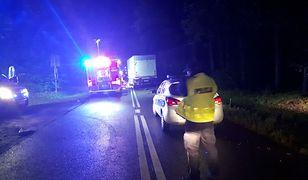 Policja wyjaśnia przyczyny wypadku w Sarniej Górze